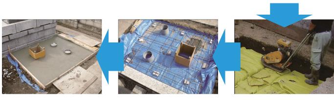 地盤改良(D・BOX工法)