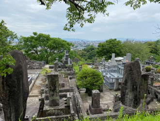 立田山墓地