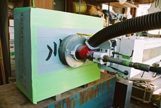 字彫りロボット・手動字彫り機
