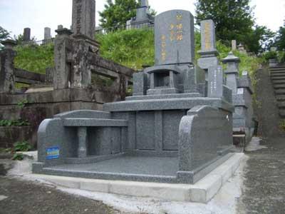 熊本市営立田山墓地 完成