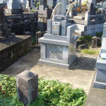 お墓の外回りの工事