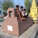 ミャンマー人のお墓