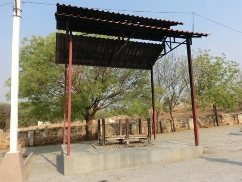 ヒンズー教の墓地