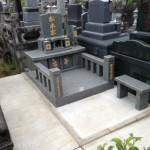 立田山の墓地