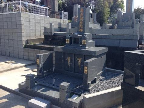 熊本市東区健軍の墓地