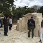 石材組合青年部の研修旅行