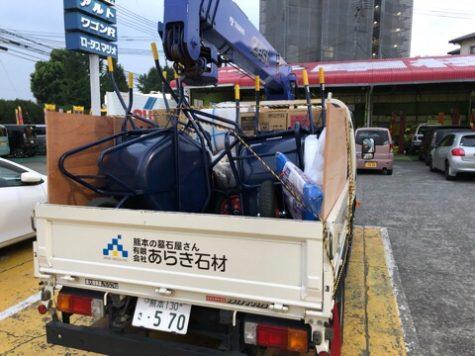 広島へ支援物資!