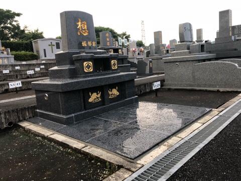 ご夫婦お二人のお墓です