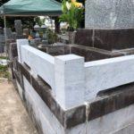 島崎石で玉垣制作