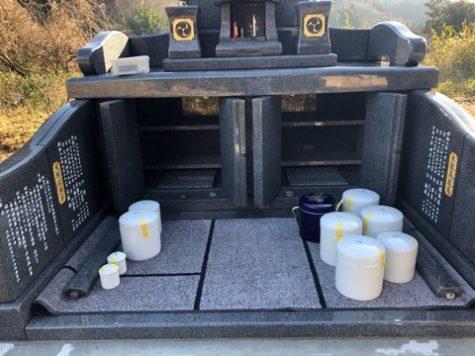二世帯のお墓