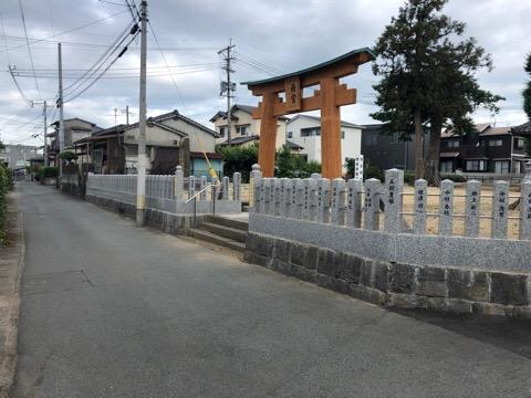 竣工祭 玉垣完成!