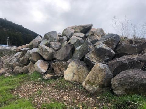 山へ石を選びに行きました^ ^