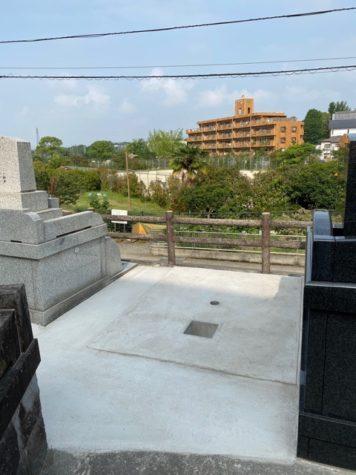 熊本市東区健軍に墓地あります。