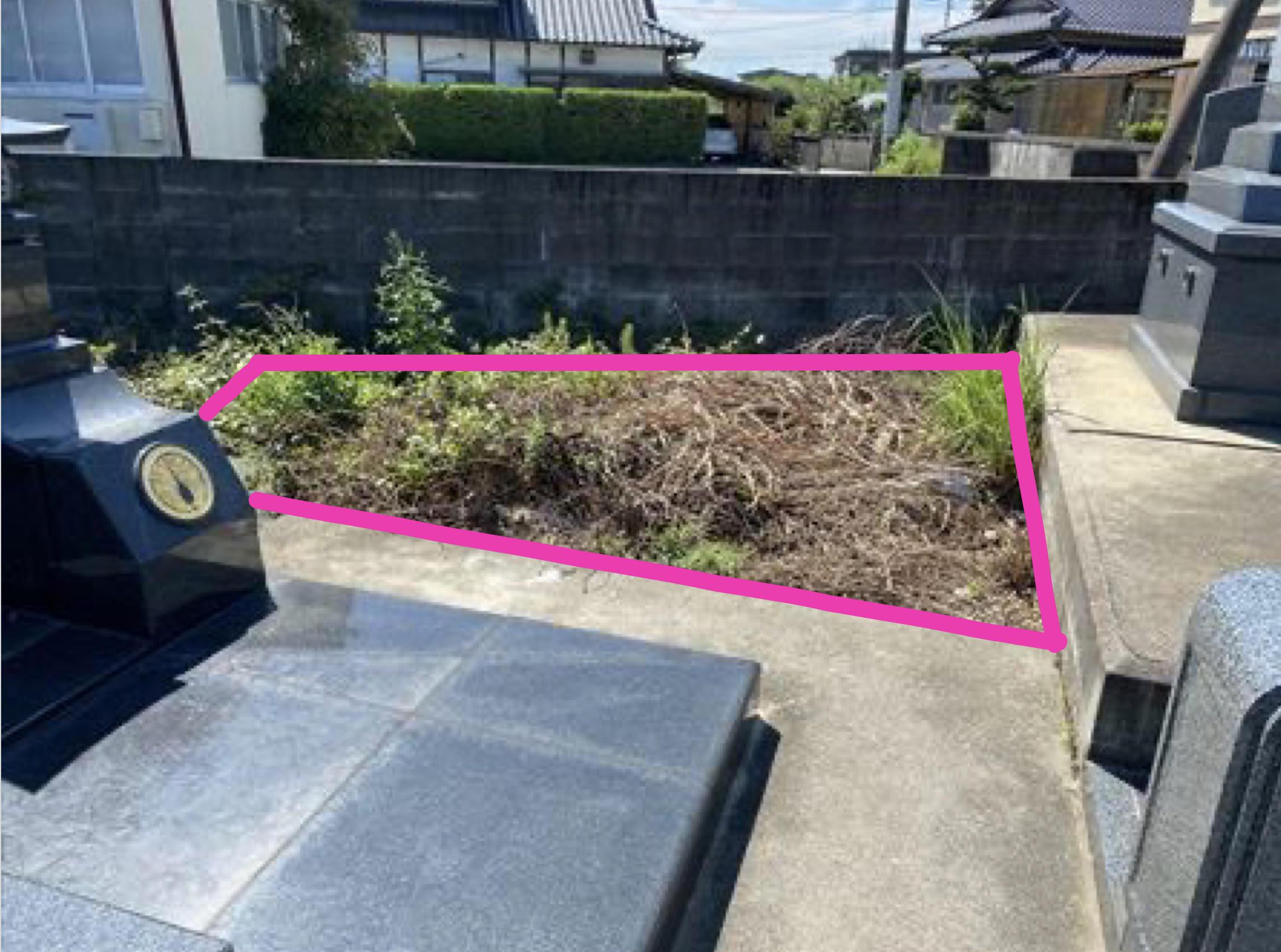 松橋に墓地あります。登記可能