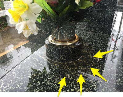造花に注意!