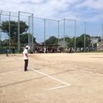 健軍校区 町内対抗 ソフトボール大会