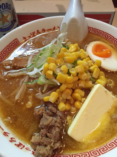 北海道での食事(^^)