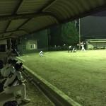秋のクラス別ナイターソフトボール