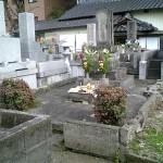 熊本市内境内墓地着工