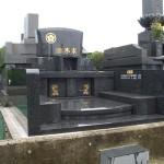 洋風のお墓