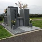 シンプルなデザイン墓