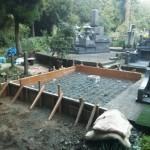 基礎コンクリート準備完了!