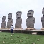 宮崎のモアイ像
