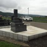 幅が1mのお墓(^^)